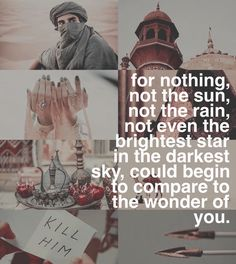 The Wrath & The Dawn. By Renee Ahdieh. Caliph of Khorasan. Khalid and Shahrzad/Shazi. book quotes.