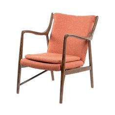 Calling all mid-century modern fans: come and get it. This sleek, cool, original chair has all the fixings of a classic-era piece with the added comfort of stylish cushioning. It'll look stunning in yo...  Find the Madison Chair, as seen in the Live Edge Living Collection at http://dotandbo.com/collections/live-edge-living?utm_source=pinterest&utm_medium=organic&db_sku=91952