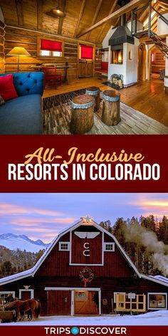 7 Best All-Inclusive Resorts in Colorado- Tanks that Get Around is an online store offering a selection of funny travel clothes for world explorers. Check out www.tanksthatgeta… for funny travel tank tops and more denver travel guides Vail Colorado, Colorado Winter, Estes Park Colorado, Breckenridge Colorado, Colorado Resorts, Vacation In Colorado, All Inclusive Honeymoon, Best All Inclusive Resorts, European Travel