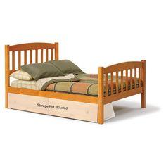 Chelsea Home Mission Slat Bed Size: Full