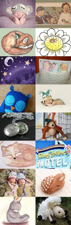 Sleepy Sundays!!  by TheDaintyBoutique on Etsy--Pinned with TreasuryPin.com