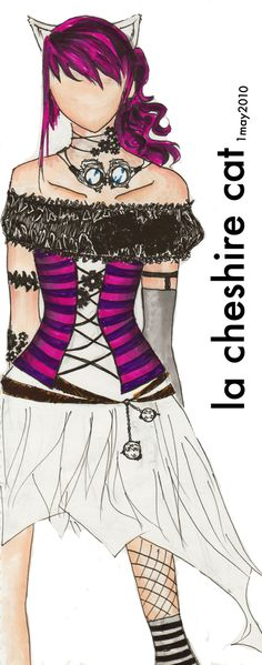 Steampunk Cheshire Cat- would love to find a corset like that. Lady Like, Halloween Cosplay, Halloween Costumes, Halloween Makeup, Halloween Ideas, Cheshire Cat Cosplay, Alice Cosplay, Chesire Cat, Plus Size Corset