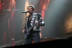 Johnny Hallyday en concert à Dijon le 4 octobre 2006