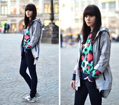 taking the parka+trainers look to a level of chic i never thought possible    City Parka by Lucy De B. via Lookbook.nu