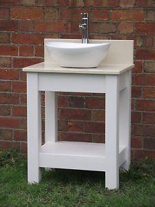 Wooden Bathroom Sink Stand Thedancingpa Com