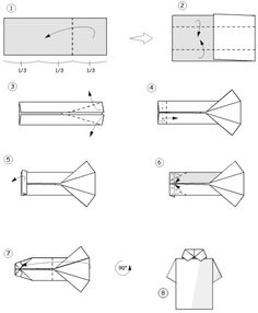 origami shirt - Google Search