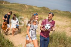 off to the beach royalty-free stock photo