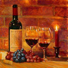 Ruffino Chianti Classico. A rich, full of wholesome-flavors, dry red-wine.