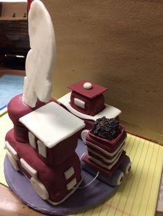 Train cake topper2 Train, Homemade, Cake, Desserts, Food, Tailgate Desserts, Deserts, Home Made, Kuchen