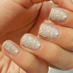 20 Interesting Beaded Nail Ideas