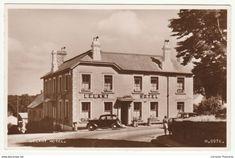 Lelant Hotel, Lelant, Cornwall, 1950 - Valentine's RP Postcard