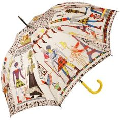 Umbrella, Umbrella designs, Vintage umbrella, Stylish umbrella, Cool umbrellas, Fashion umbrella - A Designer umbrella by Jean Paul Gaultier available from Brolliesgalore,featuring a white canopy with - #Umbrella