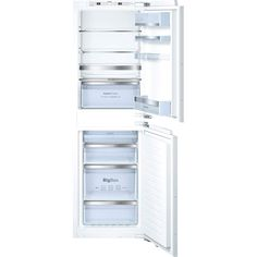 Bosch KIN85AF30G integrated built-in fridge freezer is fully loaded with high performance features and durability. It features an ultra low A++ energy rating, low noise level and many more features make the Bosch KIN85AF30G built in fridge freezer low maintenance all year round. | K014267