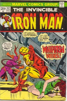 Iron Man #62 by Gil Kane