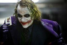 El Joker que encarnó Heath Ledger en 'El caballero oscuro'.
