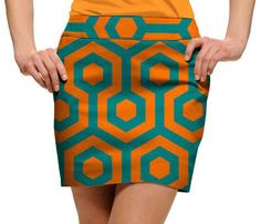 South Beach Womens Golfing Skorts by Loudmouth Golf.  Buy it @ ReadyGolf.com
