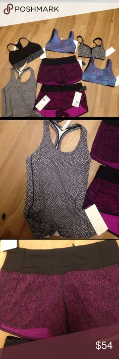 Lululemon pick what you want $54.00 each Nwt pick what $54 retails $58 size 6 or 8 lululemon athletica Tops Tank Tops