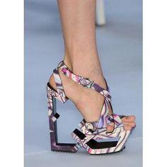 8f2699b6b3c9e geometric footwear Ugly Shoes