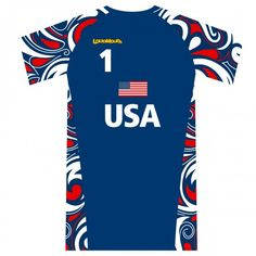 Official Splash USA Navy Volleyball Jersey - just received shirt and shorts this past weekend. Olympic Volleyball, Volleyball Jerseys, White Jersey, Summer Olympics, Mens Golf, Shirt Designs, Navy, My Style, T Shirt