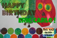 Pink and Green Mama: Happy Birthday Eric Carle! Hungry Caterpillar Costume and Class Project
