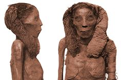 """The Egyptologist who unwrapped """"Lady Rai"""" called her """"the most perfect example of embalming that has come down to us from the ... early 18th Dynasty, or perhaps even of any period."""" Her beautifully braided hair was protected in its own bandages. Don't believe the hype! Ancient Egypt was just as black as the rest of Africa!!! After all Egypt is not an island on to itself as some would have you think. It really is part of the mother-land. What more proof do you need?"""