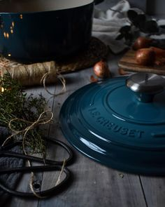 Vibrantly nuanced shades, from our table to yours. Which colorful hue will be the next addition to your collection? 📸: Instagram @rebeccacooks Home Comforts, Deep Teal, Le Creuset, Hue, Blue And White, Table Decorations, Gadgets, Shades, Colorful