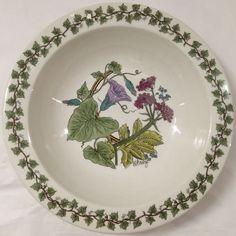 "Vintage Poole Pottery Ferndown G. Breeze signed 7"" fruit or cereal bowl Campden  #CampdenCollection #fruitorcerealbowl"