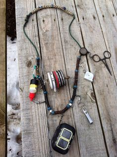 "Items similar to Fly Fishing Lanyard ""Head Hunter"" on Etsy Fly Fishing Lanyard, Fly Fishing Kit, Kayak Fishing, Fishing Tips, Fishing Lights, Head Hunter, Fishing Equipment, Outdoor Adventures, Fly Tying"