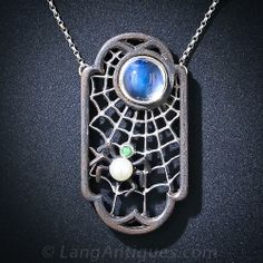 Marsh & Co. Spiderweb Necklace