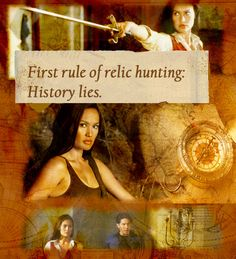 "Fandom rec: Relic Hunter   In the golden era of Indiana Jones, Lara Croft, and The Mummy, television wanted in on the archaeology action and gave us two shows, Veritas: The Quest (Alex Carter, Arnold Vosloo, Cobie Smulders) and Relic Hunter (Tia Carrere, Christien Anholt, Lindy Booth).   Watching an episode of ""Hooten and the Lady"" and the throwback to ""Romancing the Stone"" territory when men were strong but stupid and women were clever but weak, made me nostalgic for Relic Hunter, Tomb…"