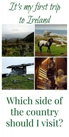 Ireland vacation question: Which side of Ireland for a first vacation? I share my recommendation + a sample itinerary!