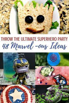 marvel party ideas 48 Marvel Avengers Superhero party ideas for your next birthday party! Avengers Birthday, Superhero Birthday Party, 4th Birthday Parties, Boy Birthday, Birthday Ideas, Disney Birthday, Third Birthday, Avengers Superheroes, Marvel Avengers