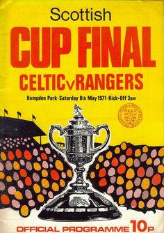 Celtic v Rangers 19710508