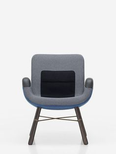 East River Chair (blue) by Hella Jongerius _ Vitra