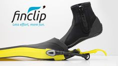The revolutionary scuba diving accessory that makes donning and doffing your fins the simplest thing in the world.