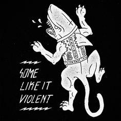 Born To Die - Illustration Collection #1 by Marc Schönn, via Behance