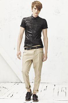 Balmain Men's RTW Spring 2013 - Runway, Fashion Week, Reviews and Slideshows - WWD.com