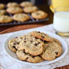 GF Coconut Chocolate Chip Cookies w/ almond flour