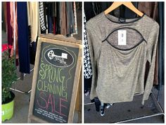 Last day of our #Sidewalk #Sale!  SAVE 30-70% OFF our spring cleaning clearance items!Sunday 11am - 5pm RT!