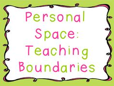 Teaching Boundaries and a FREEBIE!