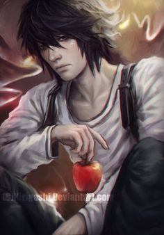 Death Note - L by Kirigashi on DeviantArt