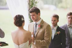 the groom is crying!!!!! AAAGH SO Romantic and cute!  That's going to b our whole wedding party <3 Jess