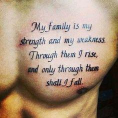 tatuajes significativos para hombres frase