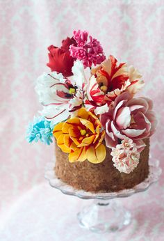 765 melhores imagens de Flores e desenhos de açucar e papel arroz em ... ad1595151cac6