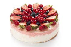 Видео рецепт оформления тортов