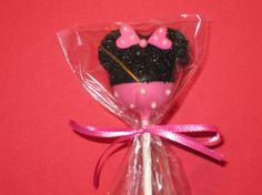 cake pops for minnie party