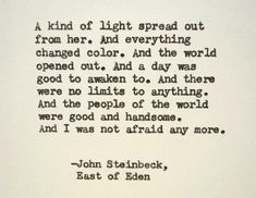East of Eden Betrayal quotes?
