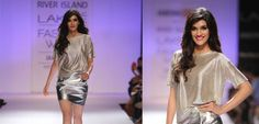 Kriti Sanon walks for 'Jabong launches British High Street Label River Island' Autumn Winter Collection at the Lakmé Fashion Week Winter/Festive 2014 #lakemfashionweek #JabongIndia #jabong.com #RiverIsland #HighStreet #Fashion #mumbai