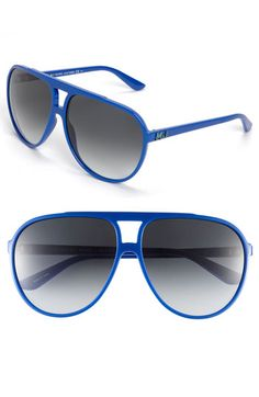 MARC BY MARC JACOBS Aviator Sunglasses available at #Nordstrom