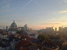 Twitter / eyeandpen: Here's the view from my flat in Brussels Brussels, Seattle Skyline, Cool Places To Visit, Belgium, The Good Place, Flat, Twitter, Travel, Amazing Places To Visit